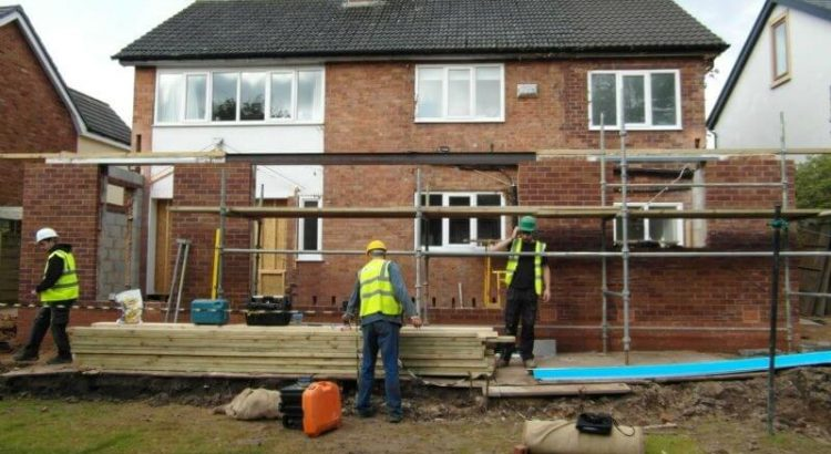 Builders Working in Wrexham